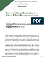 Alejandra Kollontai (1921)_ Tesis sobre la moral comunista en el ámbito de las relaciones conyugales_