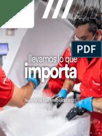 Reporte de Sustentabilidad Grupo Logístico Andreani 2020