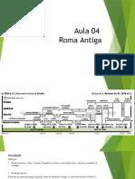 Aula - Roma Antiga