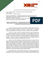PRECARIZAÇÃO DO TRABALHO DOCENTE NO RS NA PANDEMIA