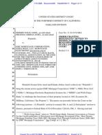 Aniel v. EMC Mortgage Corp. Mortgage MTD