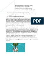RECOMENDACIONES PARA INCENTIVAR LA ARMONÍA CON LA NATURALEZA (1)