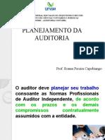 Aula 10 - Planejamento da Auditoria