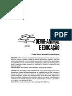 DEVIR-ANIMAL E EDUCACAO