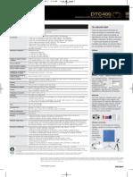 FARGO MEXICO Especificaciones Manual DTC400 Impresoras de Credenciales Fargo Mexico