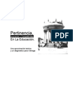 Pertinencia Innovacion y Competitividad en la Educación Una aproximación teórica y un diagnóstico para Ciénaga