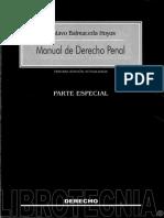 Derecho Penal - Parte Especial (Balmaceda) 2018