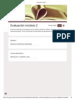Evaluación módulo 2