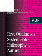 First Outline of a System of the Philosophy of Nature (Schelling) (2004 ebook)