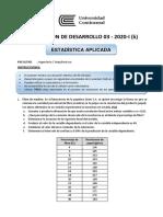 Evaluación Desarrollo 03 - K