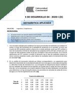 Evaluación D04 - D