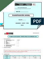 2019 ESQUEMA PLANIFICACION ANUAL RODE