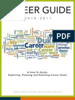 Duke University Career Guide