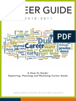 Duke University Career Guide