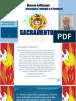1. Instituição dos sacramentos por Cristo