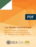 ViolenciaPolitica LeyModelo ACTIVIDAD 4
