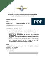 EXAMEN FINAL DE PROCEDIMIENTOS OPERACIONALES - DRONES ADAHCOL