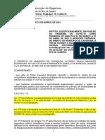 DECRETO FERIADO ITAPERUNA
