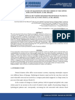 FREQUENCY ANALYSIS OF MAXIMUM FLOWS RECORDED IN THE UPPER JURUÁ RIVER BASIN, ACRE, BRAZIL