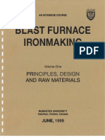 Blast Furnace Ironmaking Volume One
