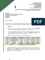 Carta Sat Reclamo de Impuestos No ingreso la Mercaderia