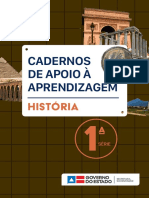 caderno de aprendizagem em história