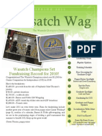 Wasatch Wag Spring 2011