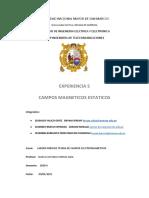 EXPERIENCIA 5-CAMPOS MAGNETICOS ESTATICOS
