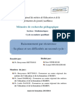 Raisonnement Par Rc3a9currence Sa Place Et Ses Difficultc3a9s Au Second Cycle 11