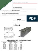 H-beam - News - Pt. Abadi Gemilang Perkasa
