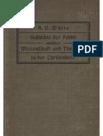 White, A.D. - Geschichte der Fehde zwischen Wissenschaft und Theologie in der Christenheit; Band 1; 1911