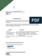 Autodiagnóstico Teorías de la Evolución.