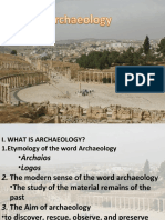 Archaeology and the Bible the History of Archaeology
