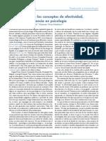 Articulo - Un análisis de los conceptos de efectividad,eficacia y eficiencia en psicología