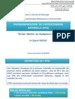 Physiopathologie de lhypertension artérielle