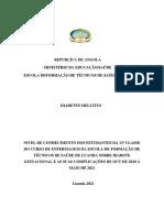 Diabetes Melitus (Protocolo)