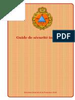 Reglementation Incendie Guide Securite Incendie Marocain