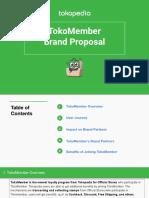 TokoMember - Brand Proposal