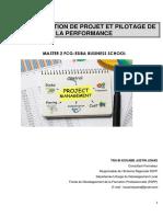 Fcg Support 011 Du Cours Gestion Des Projets Et Pilotage de La Performance m2fcg