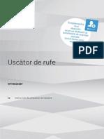 Manual Uscator de Rufe Bosch 7 Kg
