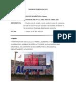 Informe Topografico Socos