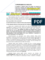 O PROFUNDO E O OCULTO - Gn 2.8,9