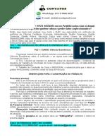 TCC I - BACHARELADO EM CIÊNCIAS ECONÔMICAS 2021 - Trabalho de Conclusão de Curso I