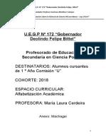 COMPENDIO Alfabetizacion Académica - C. Politica