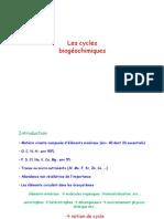 3.Cycles biogéochimiques