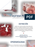 Asfixia perinatal - Presentación