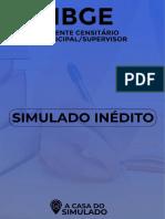 IBGE - Agente Censitário - Simulado Gratuito 00