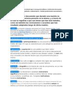 glosario pensamiento bolivariano