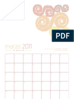 pato · calendario marzo 2011