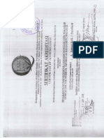 Surat Keterangan Akreditasi Kampus